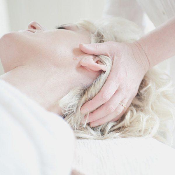 Le massage relaxant cranien