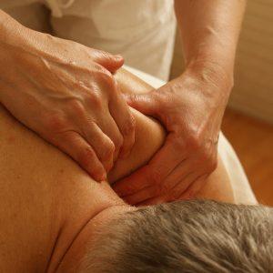 Le massage relaxant du dos